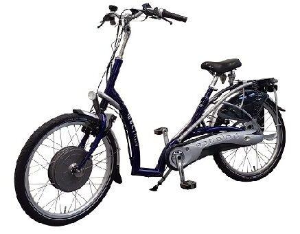 Balance lage instap fiets met Silent HT VR2F motor