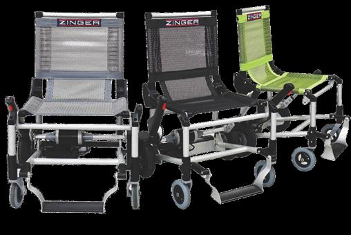 Zinger elektrische rolstoel in 3 kleuren