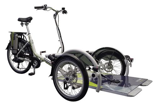 rolstoelfiets Van Raam Velo Plus 3