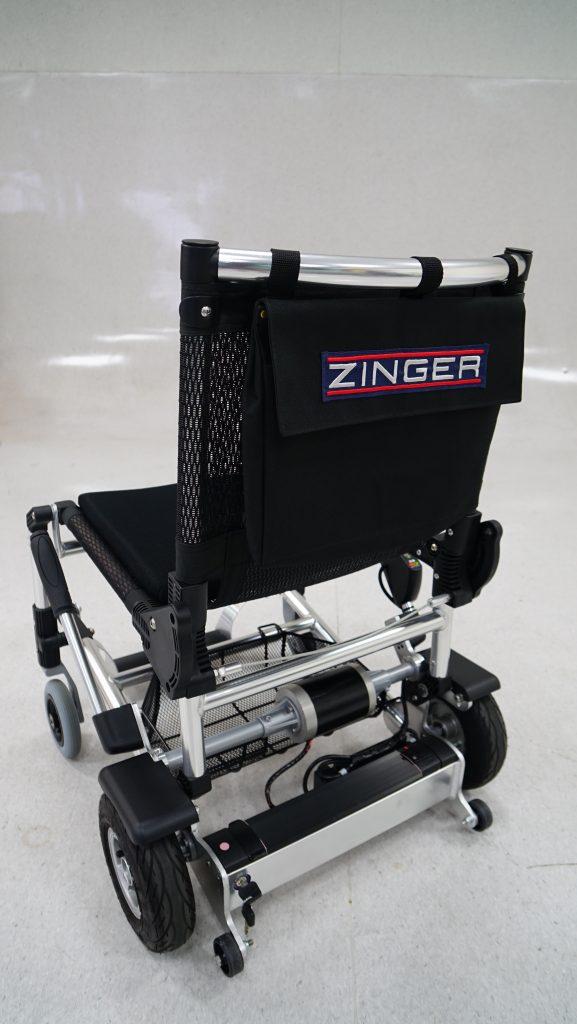 Zinger elektrische rolstoel vouwbaar achter