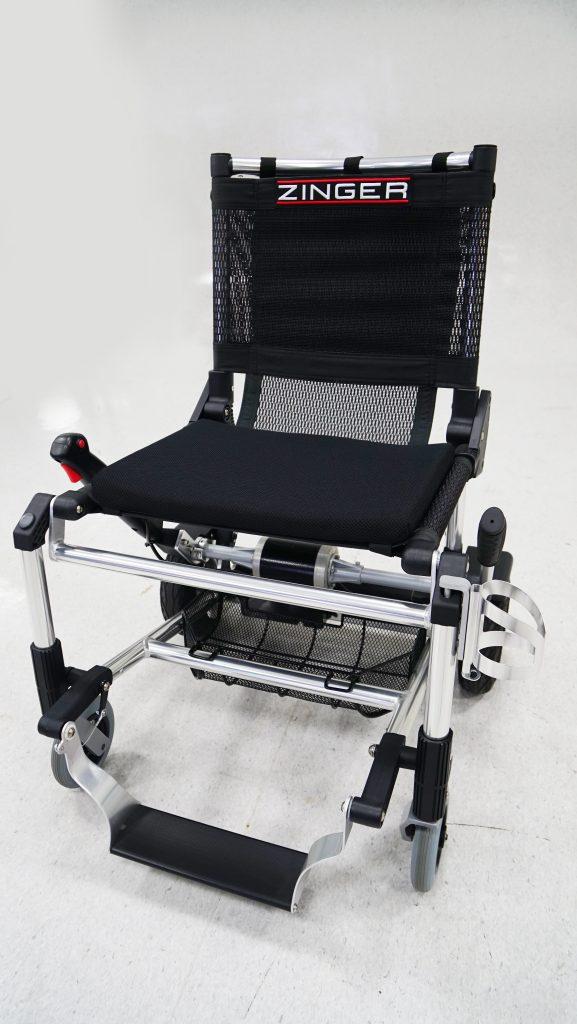 Zinger rolstoel mandje