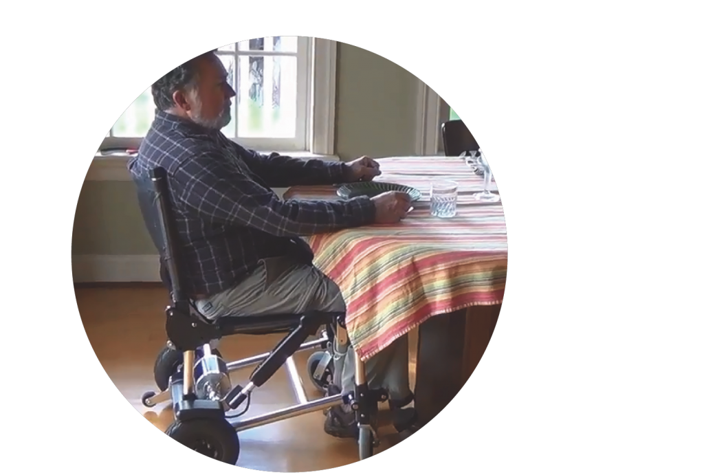 Zinger elektrische rolstoel vouwbaar
