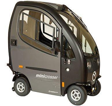 Mini Crosser Cabin met geheel gesloten cabine