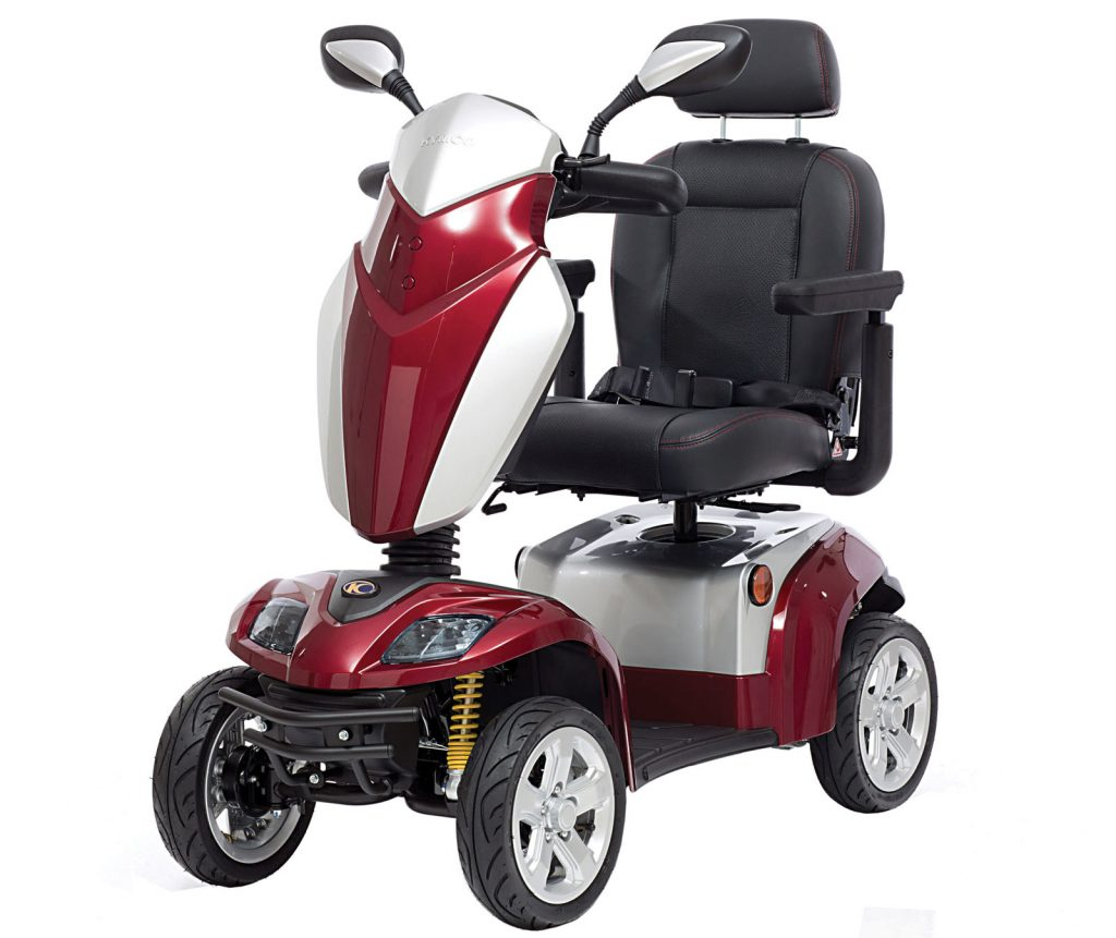 Kymco Agility Cherry Red