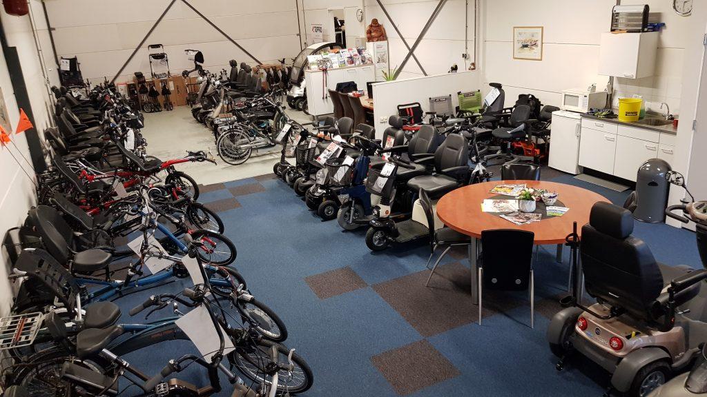Opruiming mobiliteitsproducten